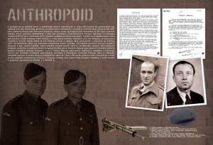Výstava k 75. výročí operace Anthropoid