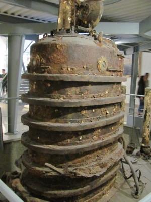 Bojová věž ponorky U20. Foto Ivo Pejčoch