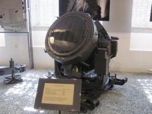 Protiletadlový světlomet FlaK Scheinenwerfer 36. Foto Ivo Pejčoch