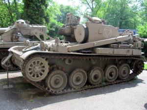 Vyprošťovací tank AMX-55. Foto Ivo Pejčoch