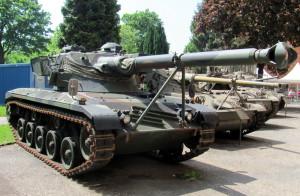 Rakouský stíhač tanků SK-105 Kürassier. Foto Ivo Pejčoch