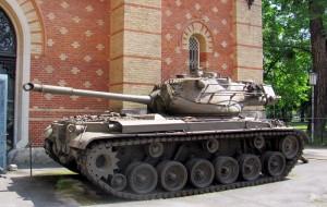 Střední tank (kategorie MBT) americké výroby M47 Patton. Foto Ivo Pejčoch