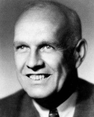 Politický vedoucí Rady tří profesor Josef Grňa po válce