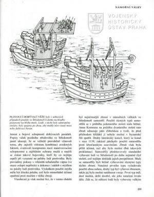 Kresby unikátních lodních dobývacích zařízení.
