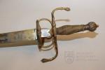 Honosný meč, kolem 1590