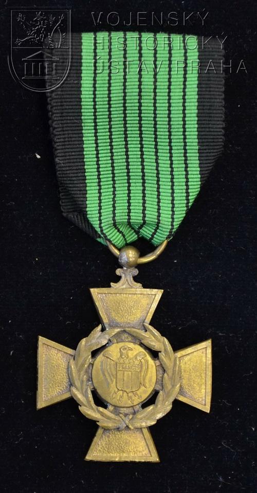 Legionářský válečný kříž Francouzské dobrovolnické legie