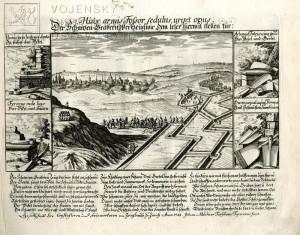 Práce zákopníků a detaily jejich pracovního náčiní – 1721.