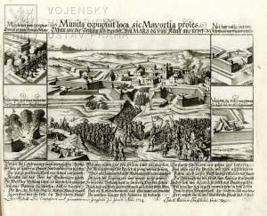 Dobývání pevnosti – 1714.