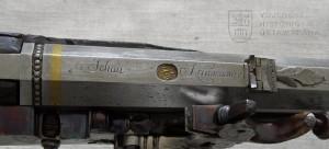 Pár krátkých loveckých kulovnic s kolečkovým zámkem, J. Krummenauer, konec 17. století