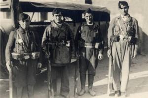 republikánské bojovníky za španělské občanské války