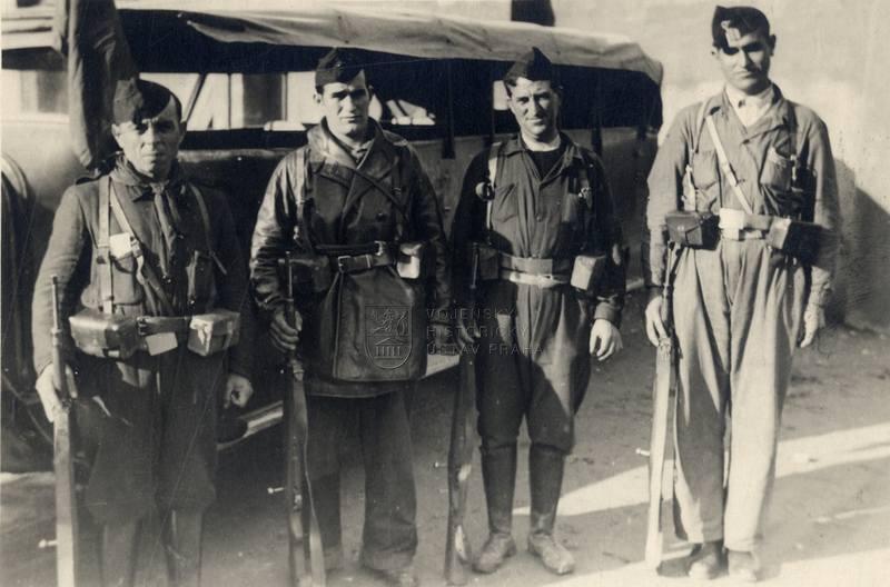 Republikánští bojovníci za španělské občanské války