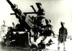 Čechoslováci s kanóny ráže 40 mm AB Bofors