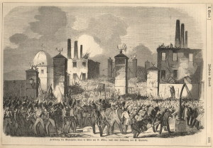 Počátek první vídeňské revoluce 13. března 1848.
