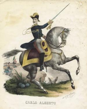 Sardinský král Karel Albert se koncem března 1848 postavil do čela italských snah o sjednocení a vojensky podpořil povstalce