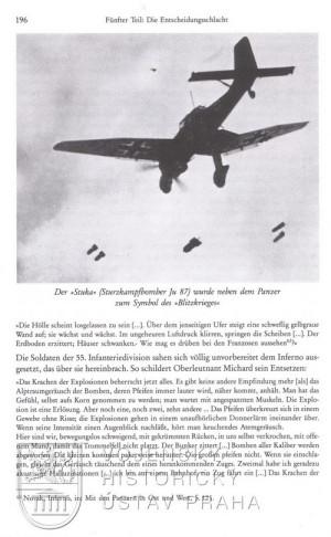 Střemhlavý bombardér Stuka, spolu s tankem jeden ze symbolů Blitzkriegu.