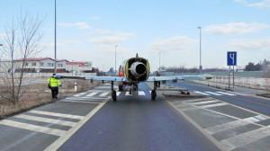 Přesun letounu Albatros L-39