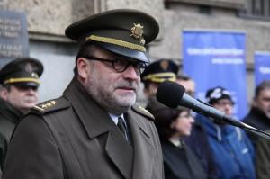 Ředitel Vojenského historického ústavu Praha. plukovník Aleš Knížek,