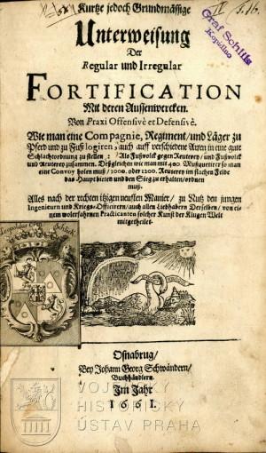 Titulní list s provenienčními poznámkami rodu Šliků.