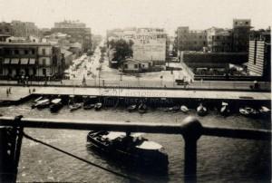 Pohled na Port Saíd, rok 1920