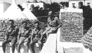 Skupina PLATINUM v ltálii v roce 1944