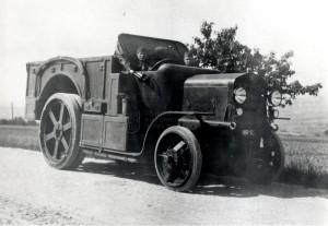 Československý dělostřelecký tahač Škoda Z