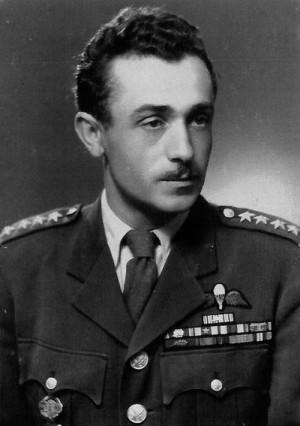 Josef Černota v hodnosti kapitána