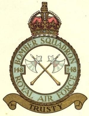 Znak 148. perutě zvláštního určení RAF