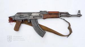 Sovětský samopal AK 47
