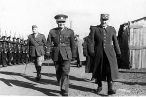 Ingr při přehlídce v Agde cca 1939