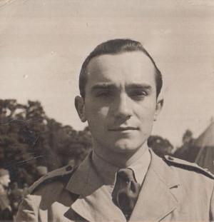 Miloš Knorr v roce 1940