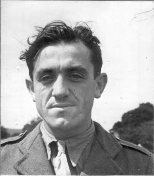 Rudolf Krzák po příjezdu do Velké Británie v létě 1940