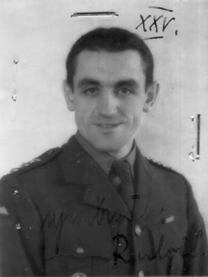 Rudolf Krzák v roce 1942