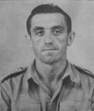 Rudolf Krzák v italském Bari, rok 1944