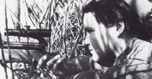 Marie při výcviku v Buzuluku