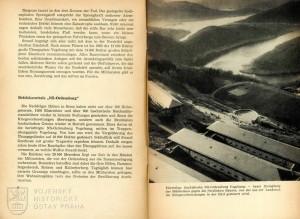 """Popisky k fotografiím se vyznačovaly přepjatou propagandistickou rétorikou: """"Bývalý fašistický řádový hrad Vogelsang – dnes hrad útlaku proti mírumilovným rolníkům""""."""