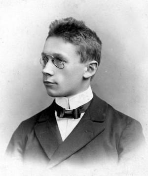 František Slunečko v době svých studií