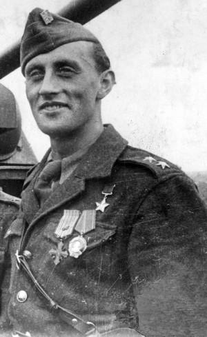 Richard Tesařík na sklonku druhé světové války