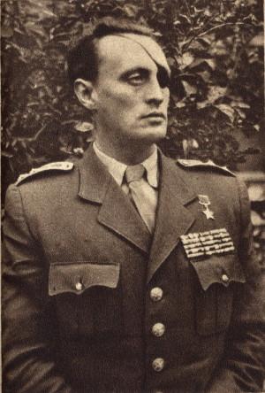Major Richard Tesařík v roce 1949