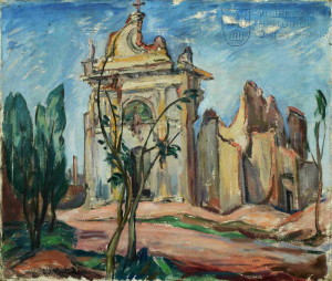 Kostel v Passarelo de la Piave, 1919