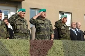 Generálporučík Ďurica se loučí s funkcí velitele sil podpory a výcviku