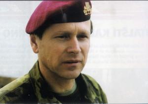 Generálmajor Jiří Šedivý u 4. brigády rychlého nasazení