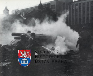 Sborové cvičení Civilní obrany v roce 1957 v Bratislavě