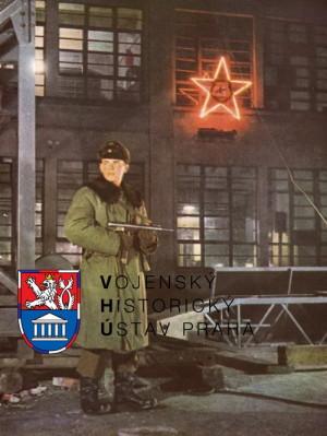 Voják Vnitřní stráže při ostraze závodu