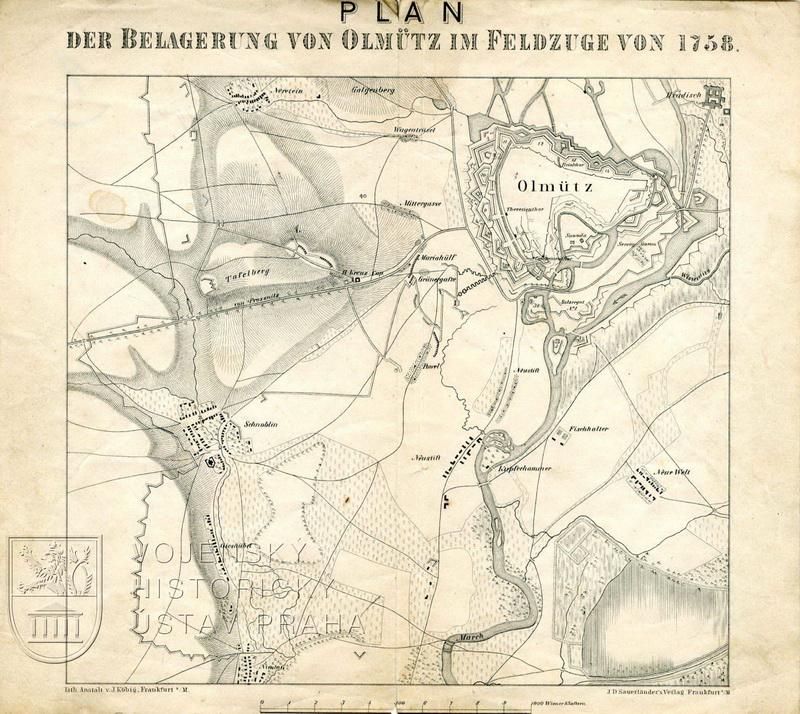 E. v. St. Zum Säcular-Gedächtniss von 1758: Der Feldzug in Mähren, oder die Belagerung und der Entsatz von Olmütz.
