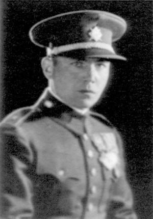Podplukovník generálního štábu Václav Kropáček (zde jako škpt.pěch.), 22. 6. 1898 – 13. 12. 1943 FOTO: VHÚ Praha