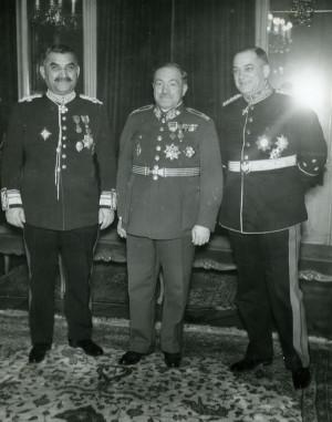 Arm.gen. Ludvík Krejčí s náčelníky malodohodových generálních štábů. FOTO: VÚA‒VHA