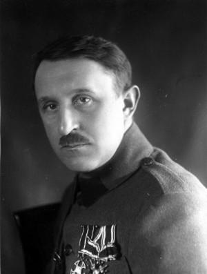 MUDr. Vladimír Haering v době své služby v československých legiích v Rusku (Foto VHA)