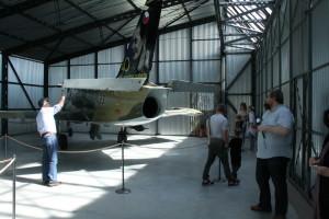 V novém hangáru č. 43