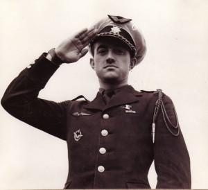 Josef Jaške v uniformě francouzského letectva.  Foto: sbírka Jiřího Rajlicha