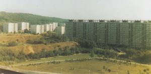 Celkový pohled na areál bývalé Kobyliské střelnice z osmdesátých let dvacátého století.